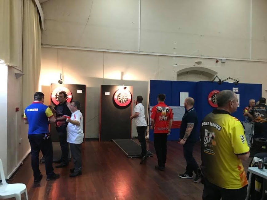 Gibraltar Open de Dards 2018